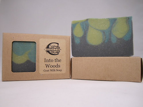 Into the Woods Goat Milk Soap