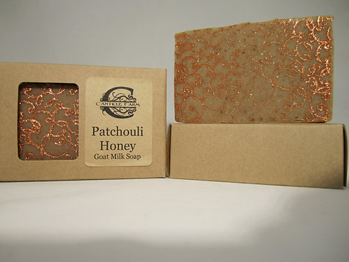 Patchouli Honey Goat Milk Soap