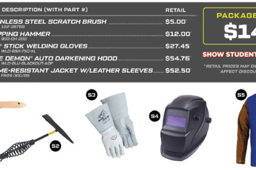 STICK - Welding Gear Bundle