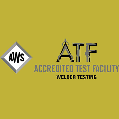 AWS Certification Test, Single Position Plate