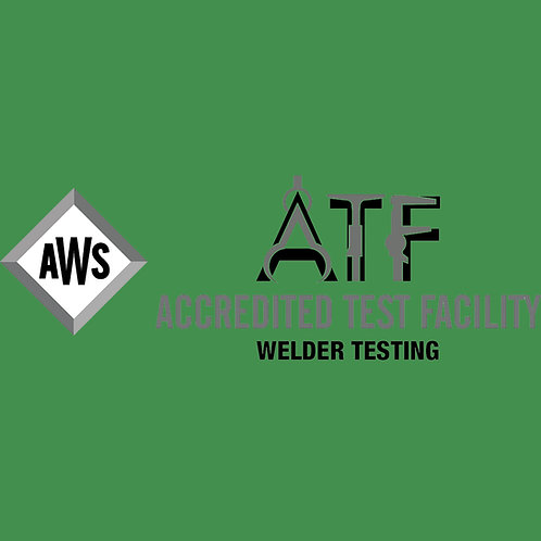 AWS Certification Test, Multiple Position Plate