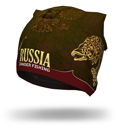 Шапка Zander fishing RUSSIA, brown
