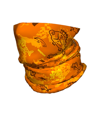 ToubeScarf Funcamo Orange