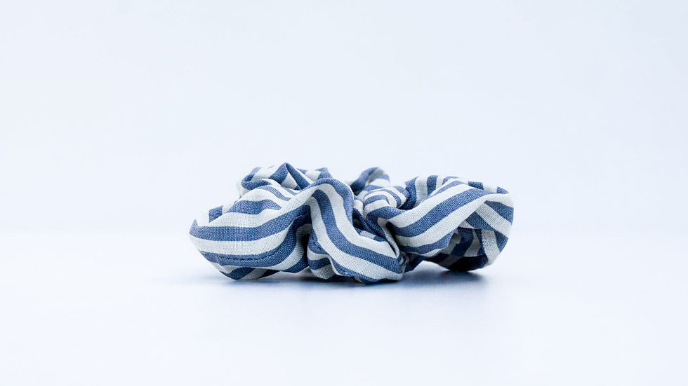 Brooksies - Scrunchie Nautical Grey
