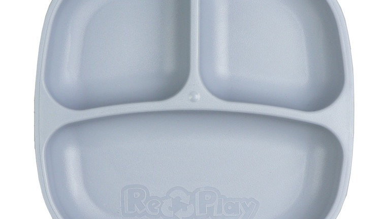 Replay - Divided Plate Grey