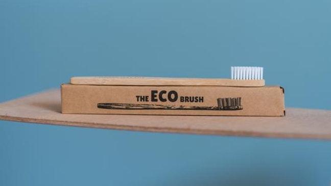 The ECO Brush - Bamboo Toothbrush