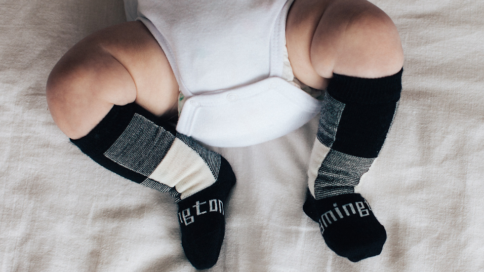 Lamington -  Jumbo Knee High Merino Socks