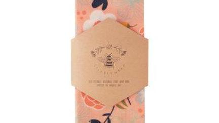 LilyBee Wraps - Feeling Peachy Large Single Wrap