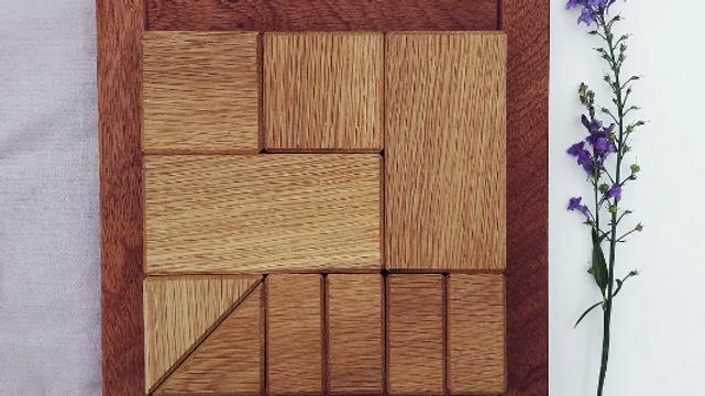 Brooksies - Mini Oak Blocks