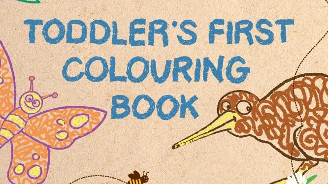 Honeysticks - Toddler Colouring Book