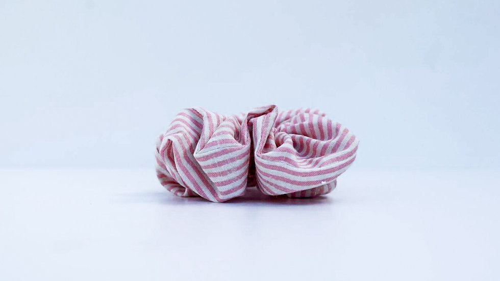 Brooksies - Mini Scrunchie Nautical Pink