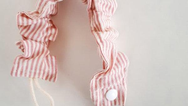Brooksies - Dummy Clip Pink Stripe