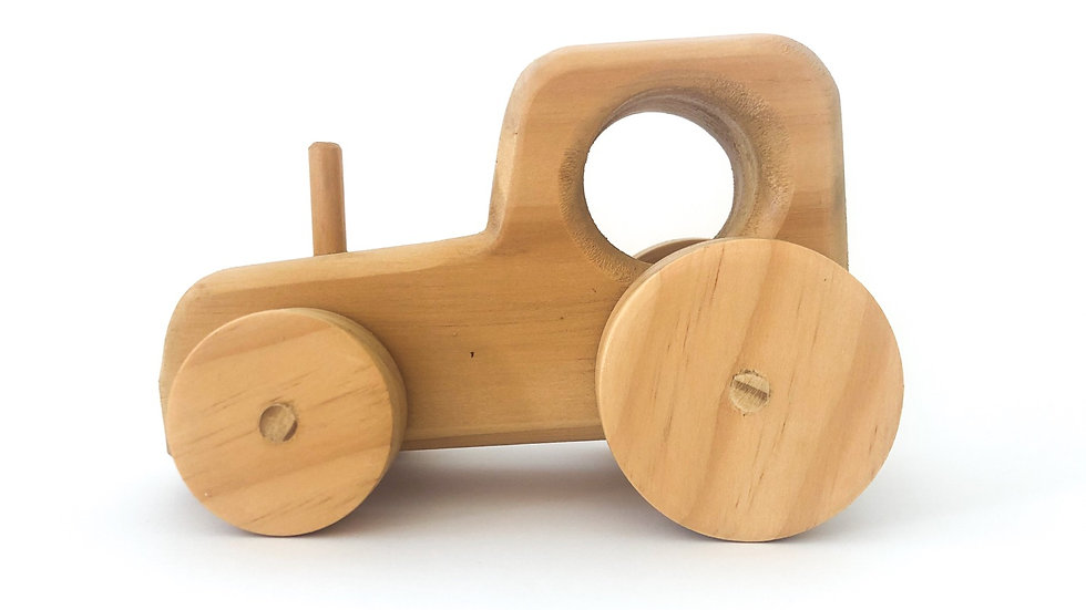 Backshed Puzzle and Toys - Wooden Tractor