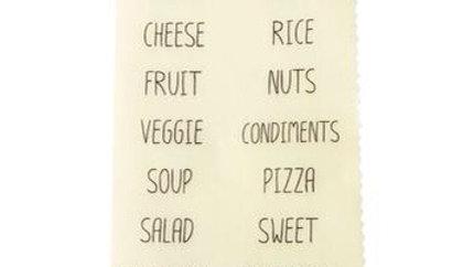 LilyBee Wraps - Food Labels