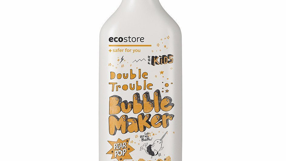 Ecostore - Kids Bubble Bath Pear Pop 400ml