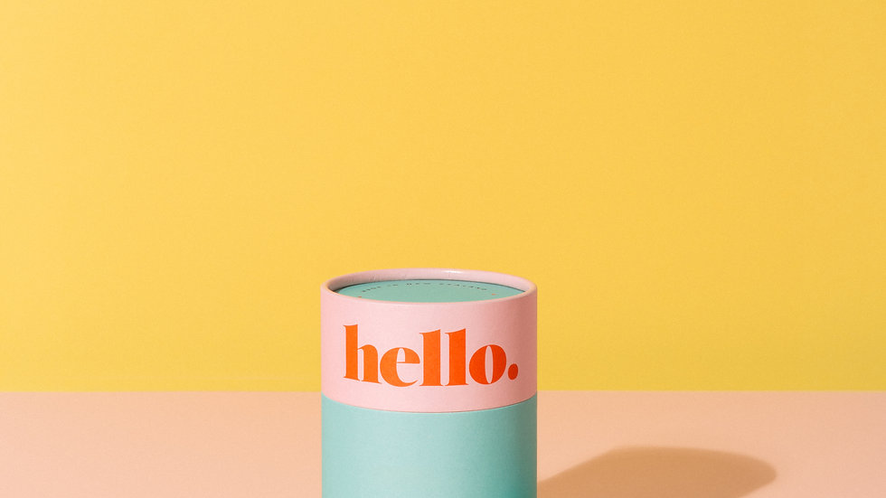 Hello Cup - S/M Blue
