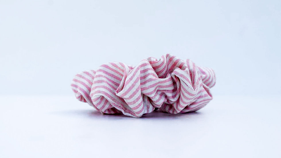 Brooksies - Scrunchie Nautical Pink