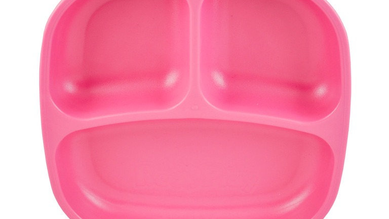 Replay - Divided Plate Bright Pink