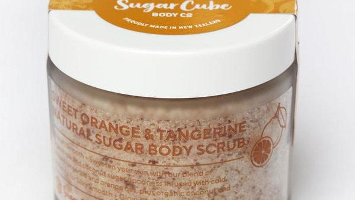 Sugar Cube - Orange and Tangerine Large Sugarpot