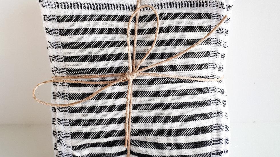 Brooksies - Face Sqaures Grey Stripe
