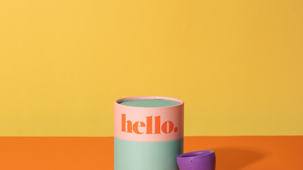 Hello Cup - S/M Purple
