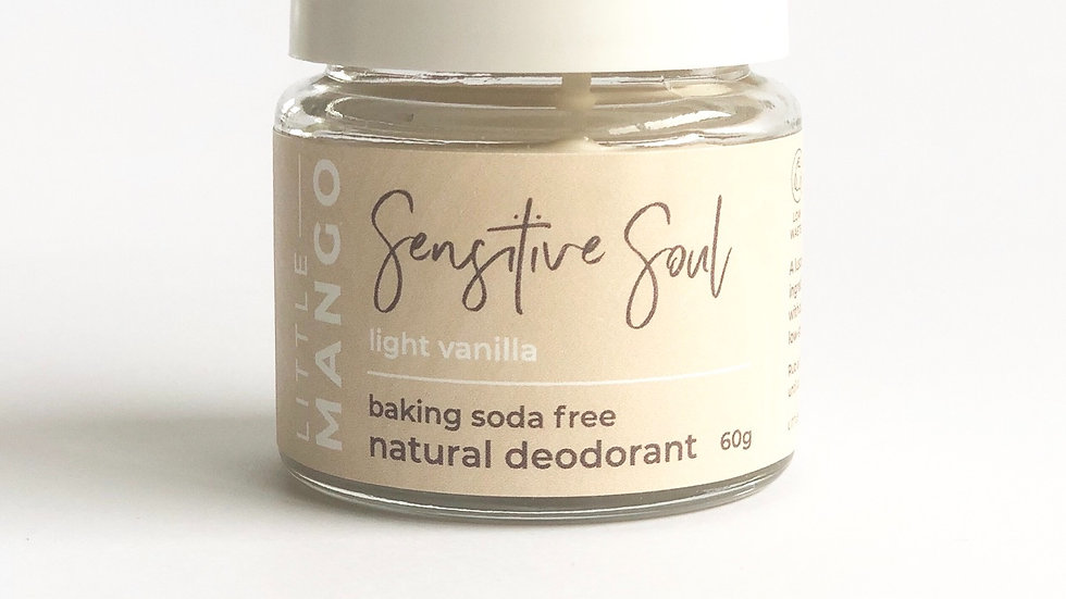 Little Mango - Deodorant Baking Soda Free