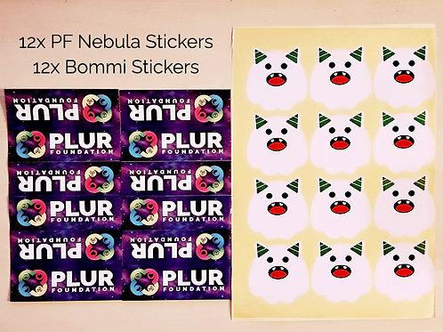 12x12 Sticker Explosion (24 Pack)