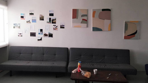 Resting space or artist