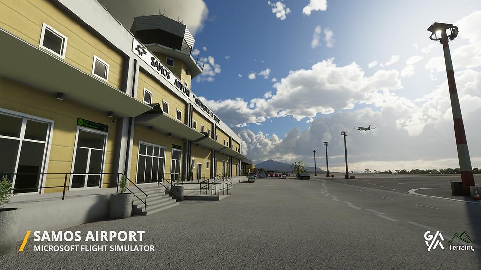 Samos Airport (LGSM) For Microsoft Flight Simulator