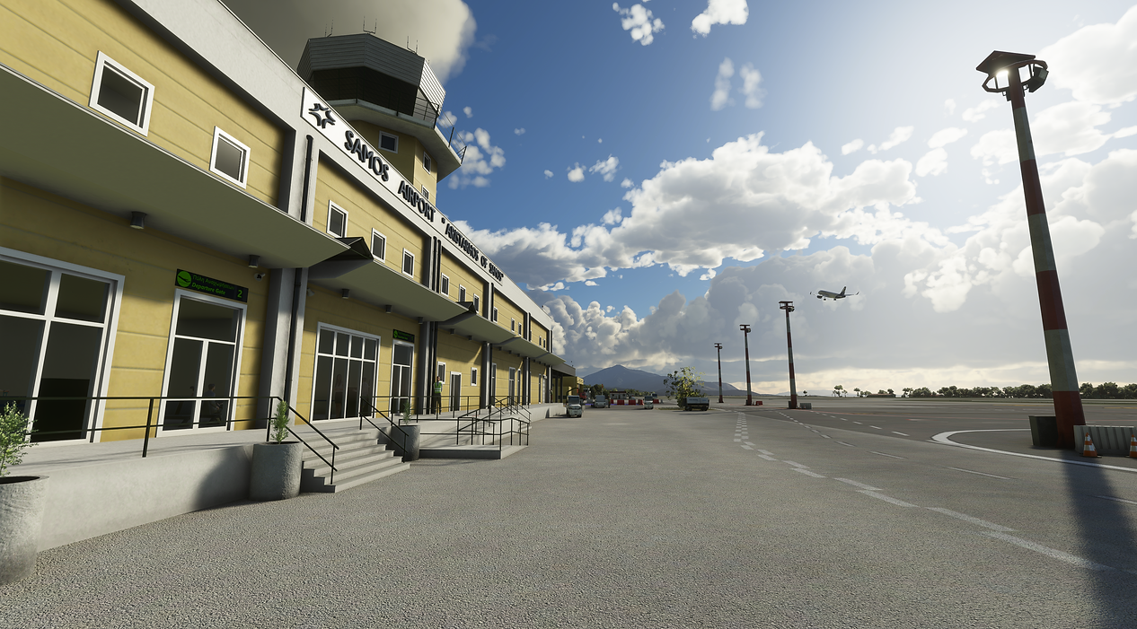 Samos Airport for MSFS 2020 By Terrainy Studios and Gaya Simulations
