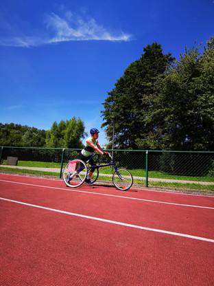 ''Iedereen kan sporten, ook mensen met een handicap.''