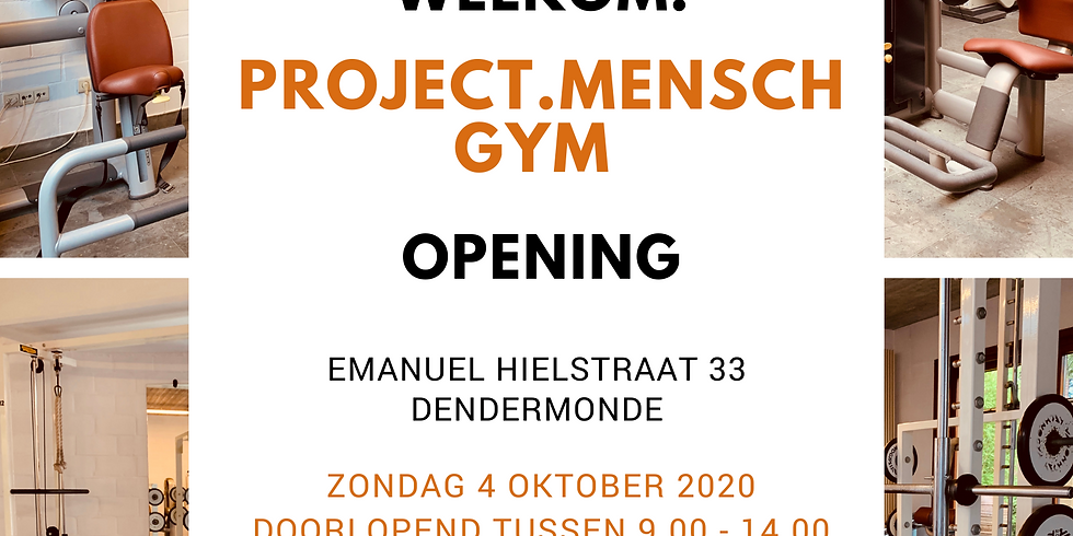 MENSCH.YOU.FIT OPENING