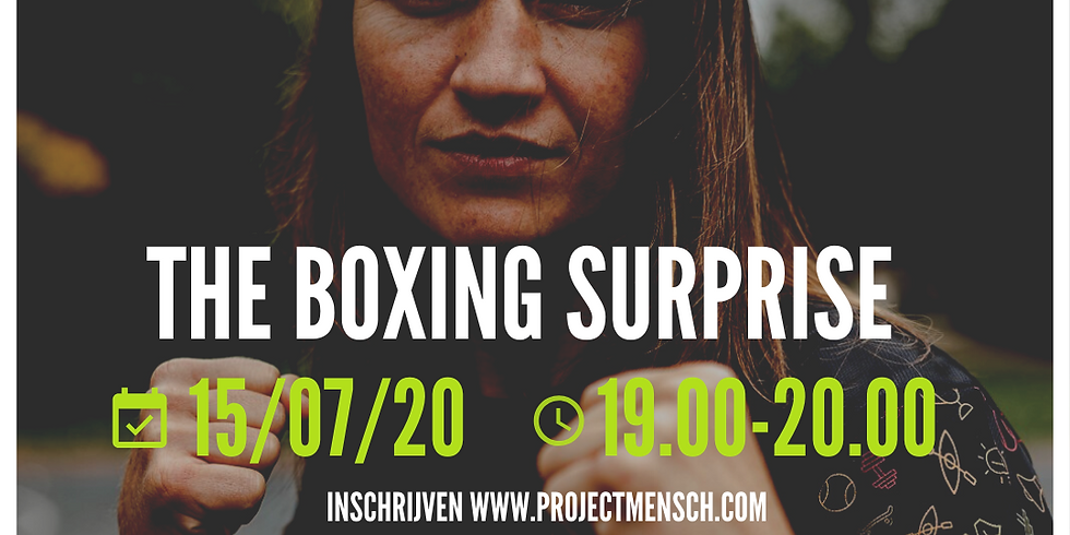 THE BOXING SURPRISE