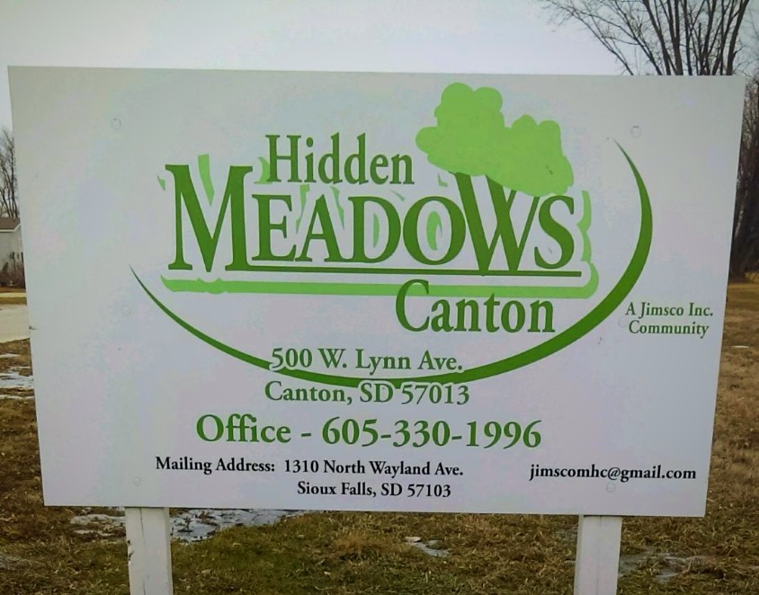 Hidden Meadows Canton South Dakota