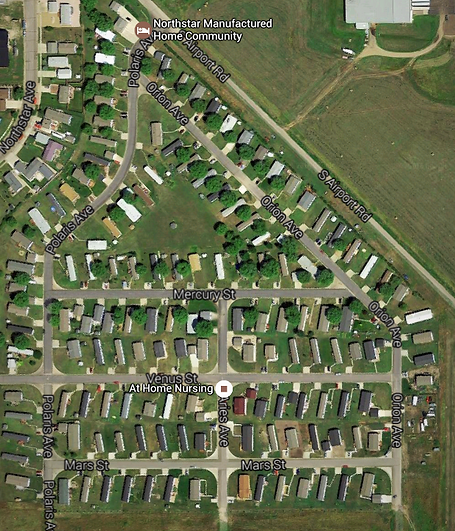 Northstar Manufactured And Mobile Home Park Community In Pierre South Dakota