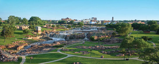 Sioux Falls Park near our Community