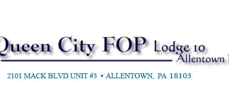 Mulqueen for Judge receives Allentown FOP endorsement.