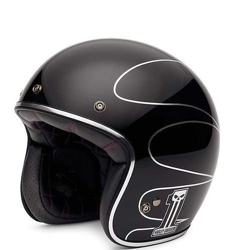 Casque Jet Elite Retro