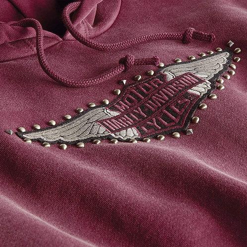 Sweatshirt à capuche Studded Wing