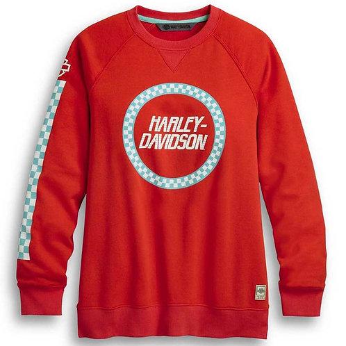 Sweatshirt Race Sleeve Stripe (96365-20VW)