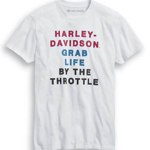 T-shirt By The Throttle