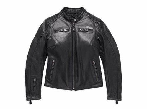 Blouson en cuir homologué #1 Skull Leather Jacket