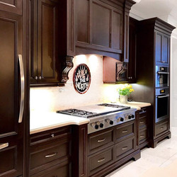 Chocolate Brown Kitchen