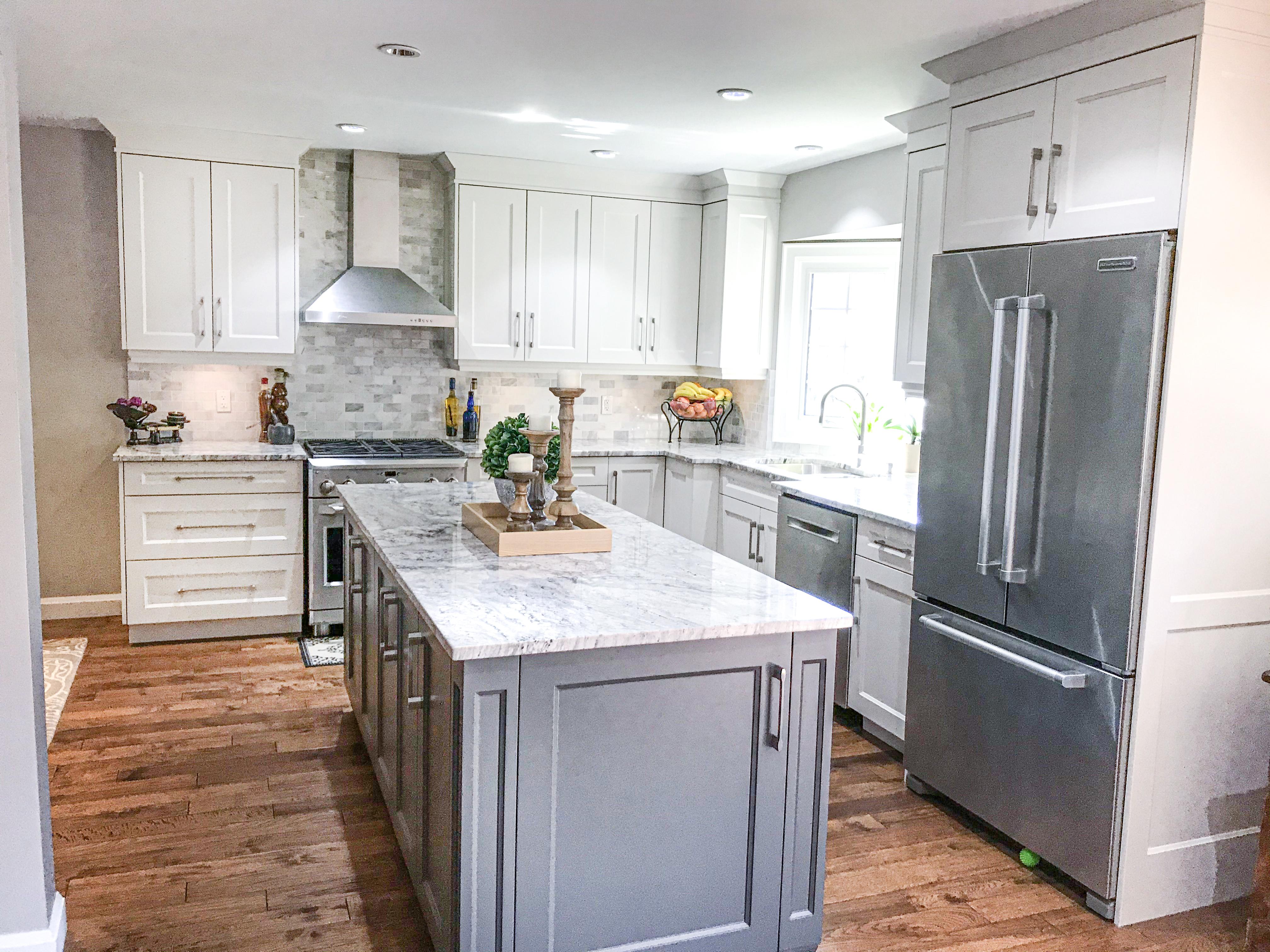 White & Grey Kitchen
