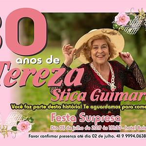 Festa de 80 anos suspresa para Tereza