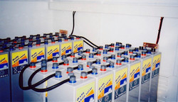 PV system battery bank