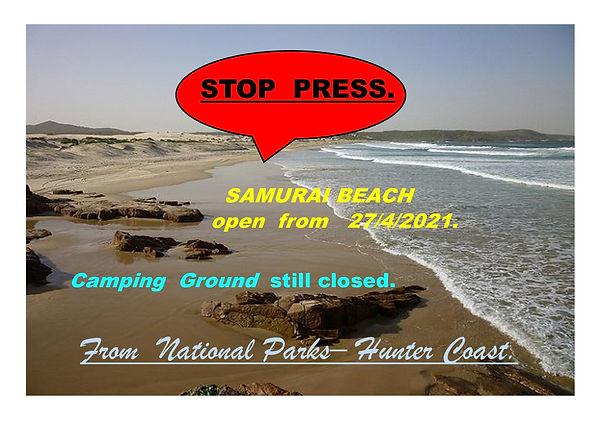 Open 27-4- Samurai beach.jpg