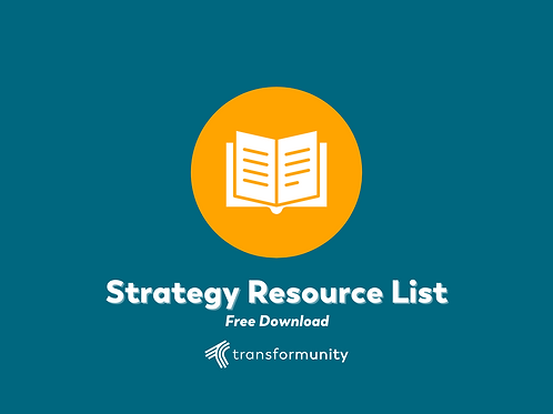 Strategy Resource List