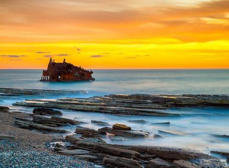 Корабль, затонувший у Лейдис Майл: трагедия и легенды
