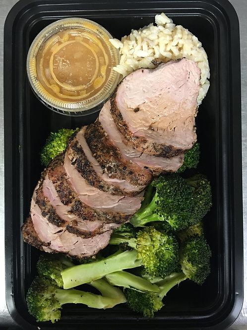 Roasted Pork Tenderloin Meal